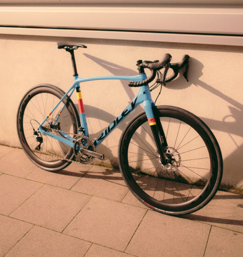 Ridley Kanzo Speed Ultegra Belgian Blue
