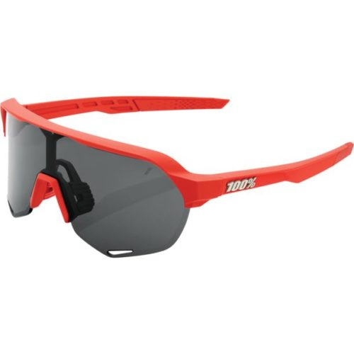 100% S2 - Smoke Lens, Soft Tact Coral, unis